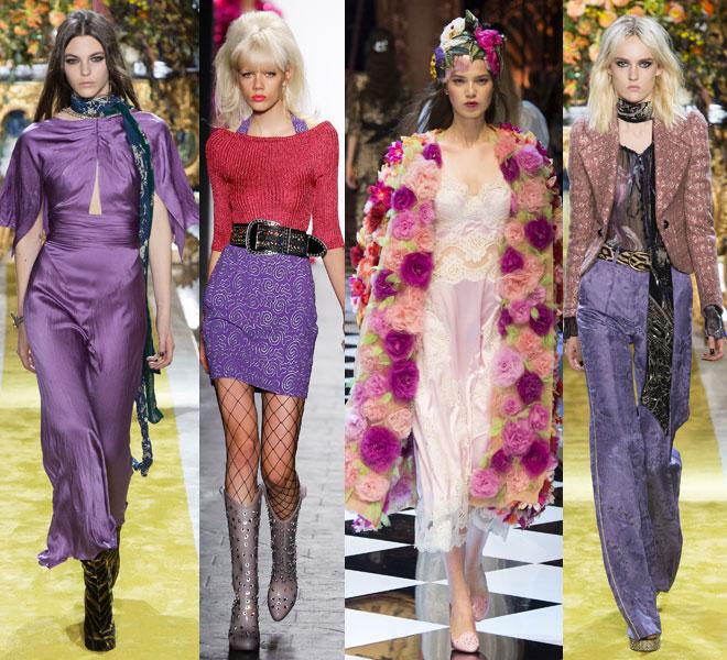 colores de moda otoño iniverno 2016