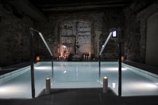 Aire de Vallromanes spa mas salagros
