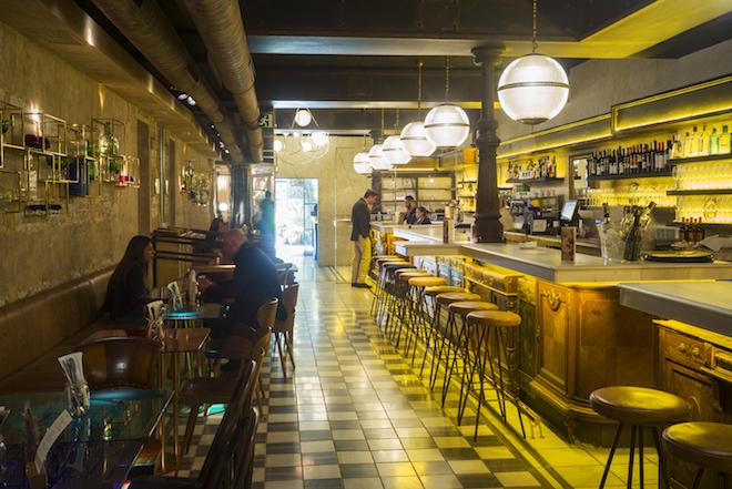 La paisana de casa gracia un multiespacio gastrocultural - Casa gracia restaurante barcelona ...
