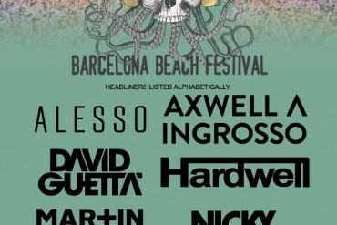 cartel Barcelona Beach Festival