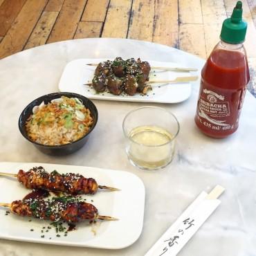 satay grill comida asiatica bcn