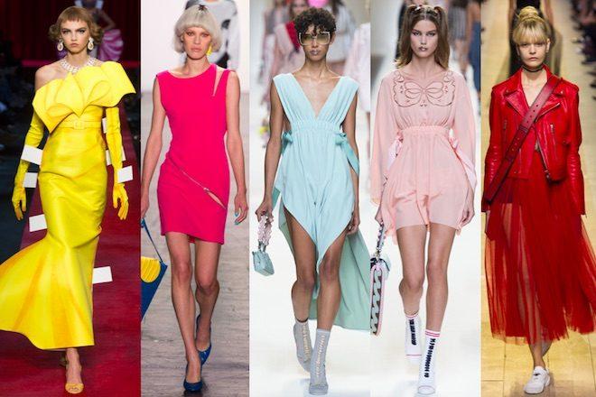 los 10 colores de moda para la primavera verano 2017 del