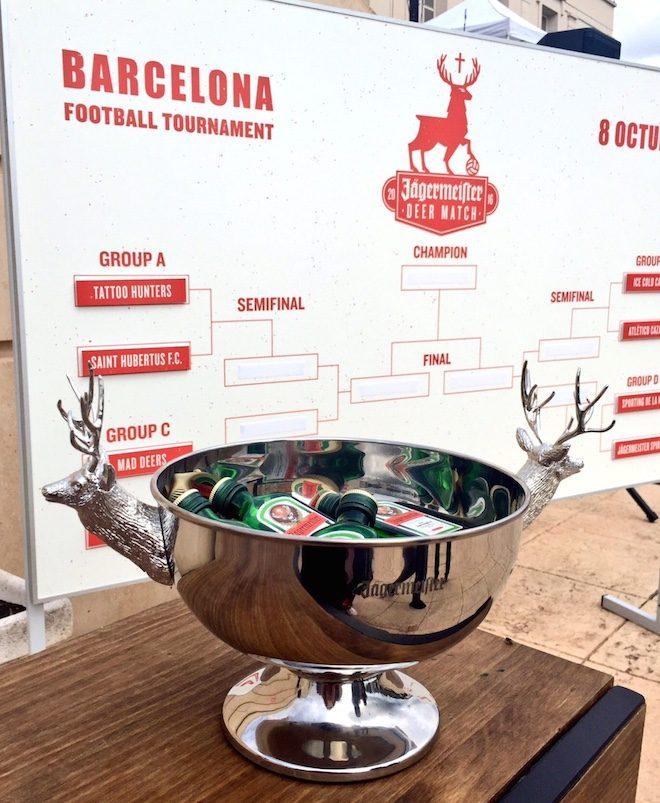jagermeister barcelona deer match