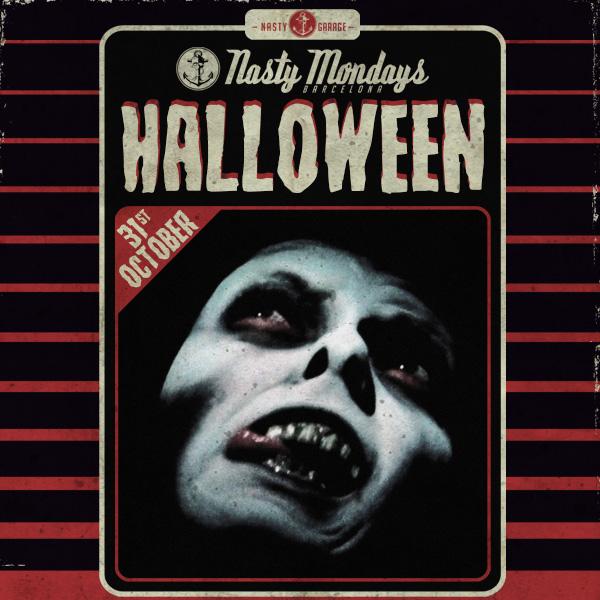 Fiesta Halloween del Nasty Mondays