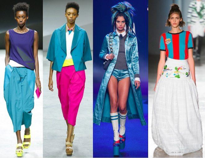 Moda 2017 primavera verano - Colores de moda ...