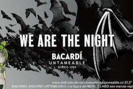 bacardi we are the night