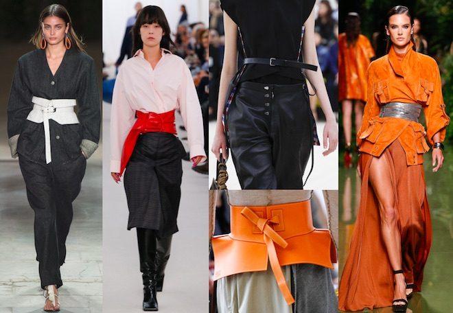 Accesorios de moda cinturones