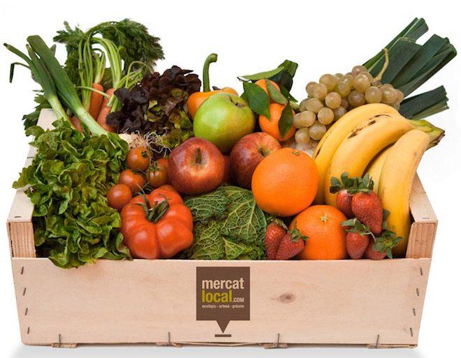 Trashcooking cesta fruta y verduras