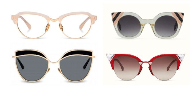 gafas cut eye kaleos fendi
