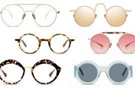 gafas redonda moda 2017 kaleos