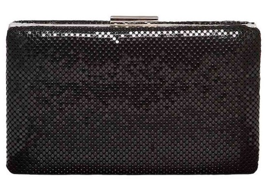 bolso de fiesta clutch negro