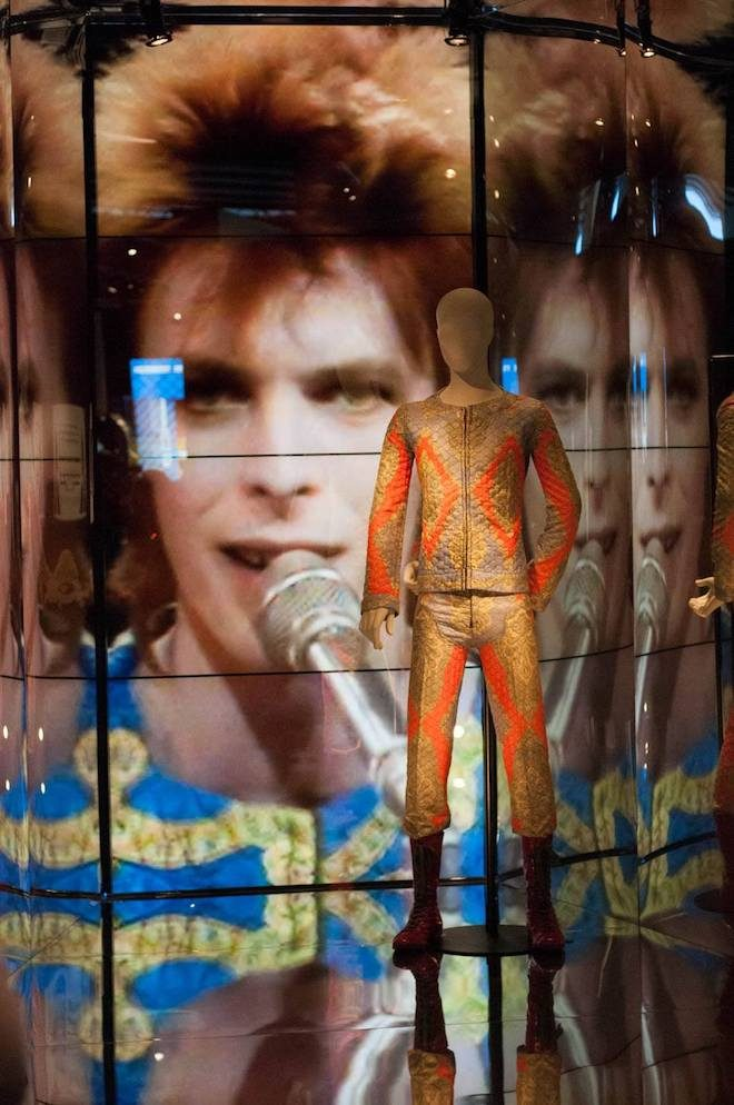 david bowie is trajes originales