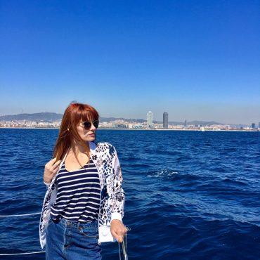 five star boat barcelona catamaran