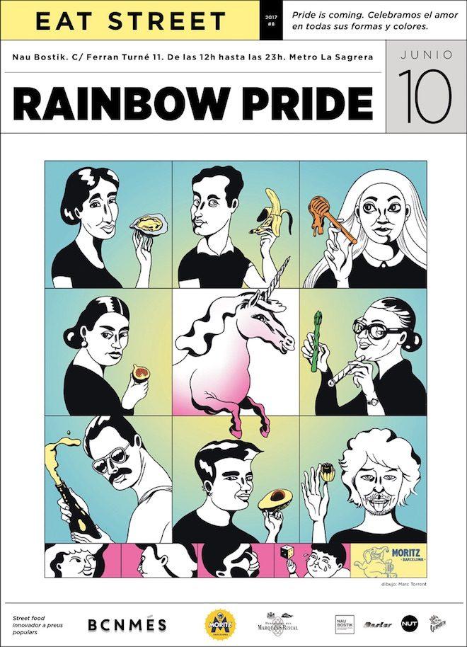 Rainbow-Pride-eat street food market