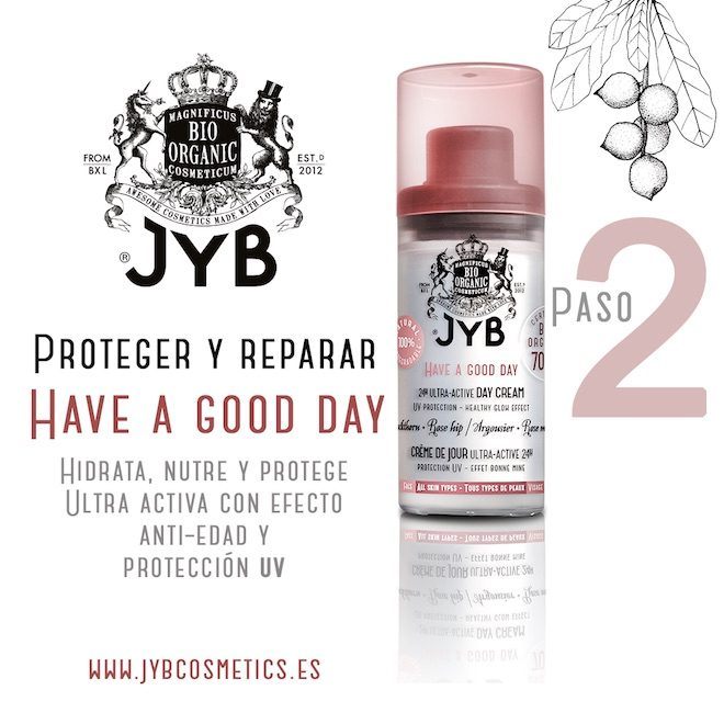 JYB Cosmetics have a good day