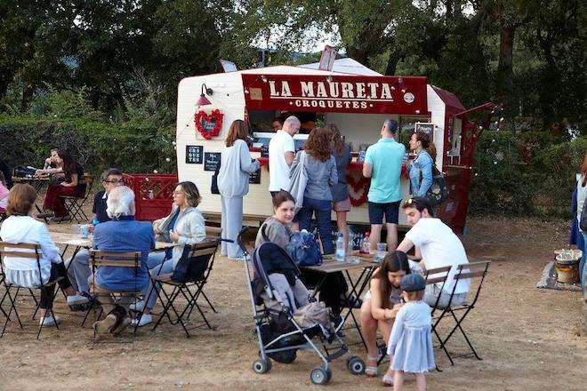 la santa market food truck