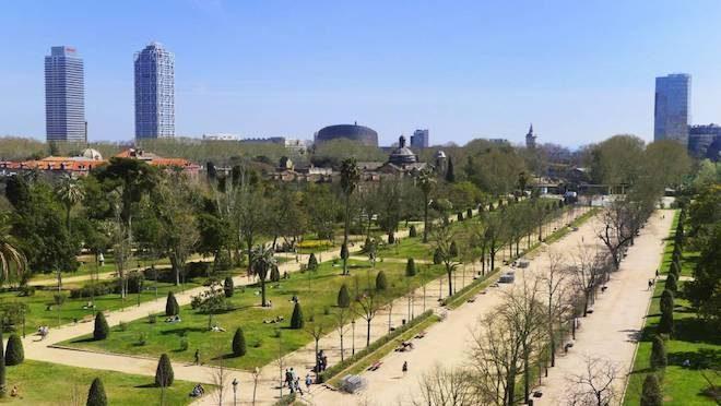 estudiar en barcelona el-parc-de-la-ciutadella