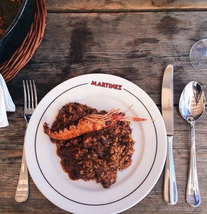 mangiare paella a barcellona restaurant martinez
