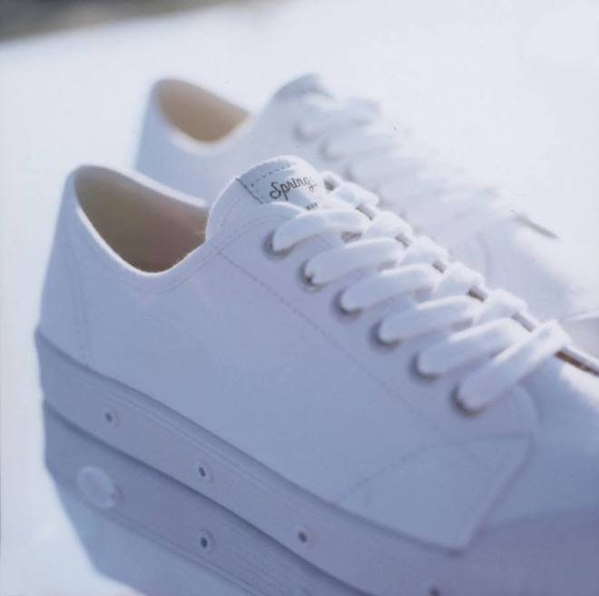 spring court zapatillas blancas