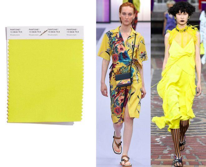 colores de moda primavera verano 2018 Meadowlark