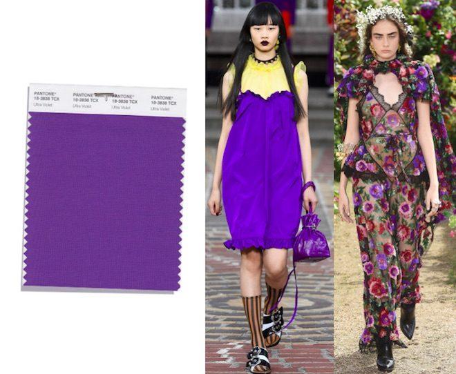 Los Colores De Moda De La Primavera Verano 2018 Del