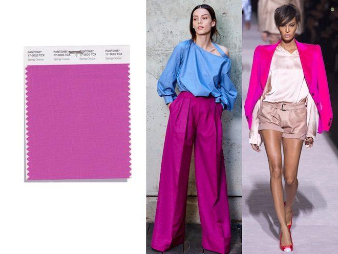 Los colores de moda de la primavera verano 2018 del for Tendencia de color de moda