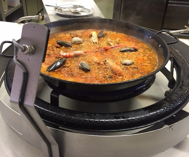 mana 75 restaurante paella barcelona