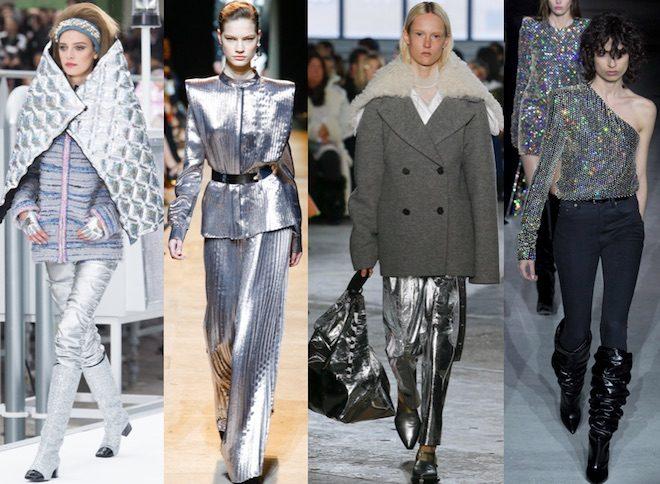 tendencias de moda oOTOÑO INVIERNO 17 18 silver