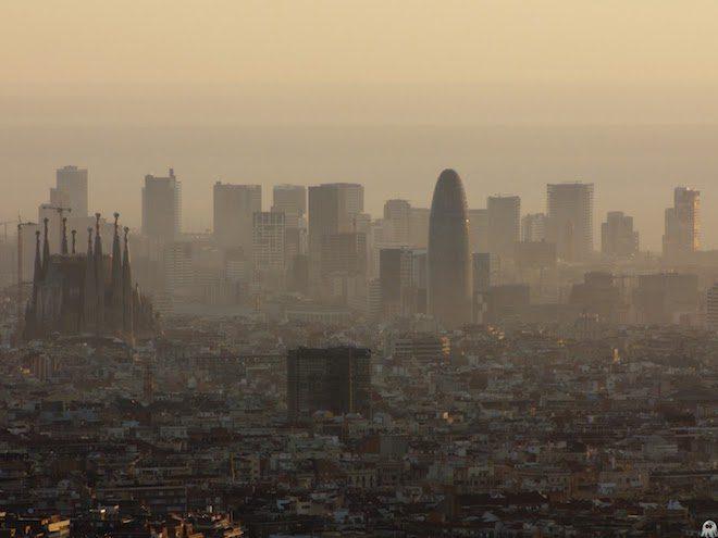 contaminacion barcelona