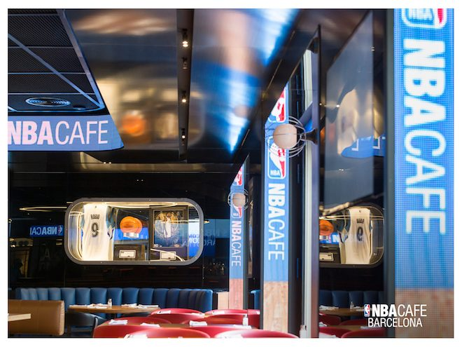 nba cafe barcelona baloncesto