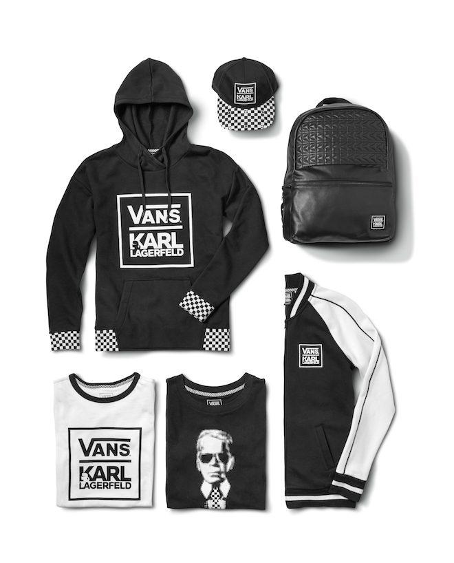 vans coleccion Karl Lagerfeld