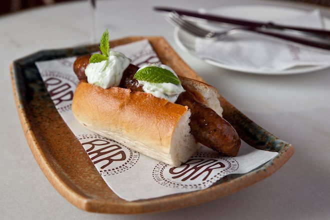 bar boulud barcelona Tunisiene Hot Dog