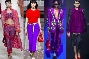 ultra violet color de moda 2018