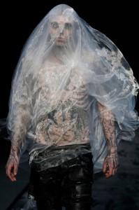 El estilista de Lady Gaga en su debut en Thierry Mugler