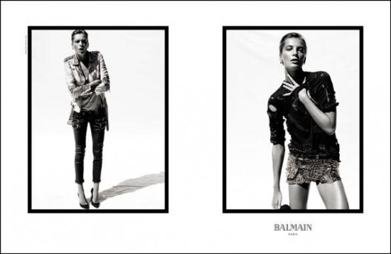Balmain Spring-Summer 2011 Ad Campaign
