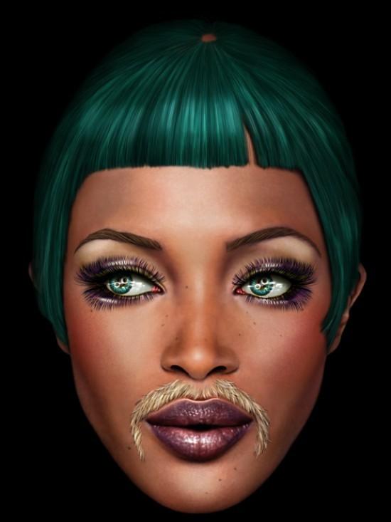 Naomi Campbell by SAUL ZANOLARI