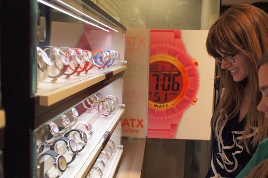 relojes ecaparate tienda watx barcelona