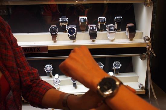 reloj led tienda watx barcelona