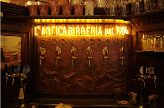antica birreria peroni roma