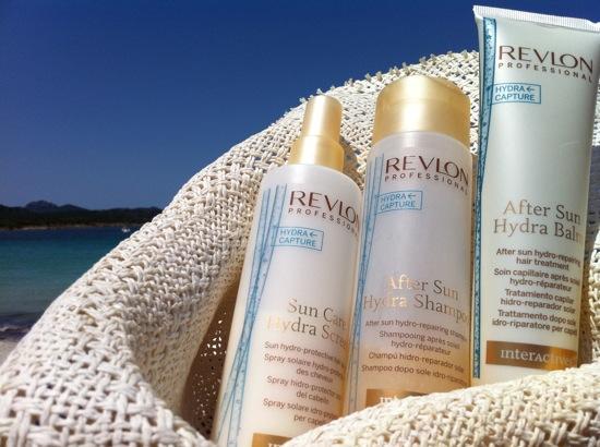 productos para el cabello en la playa