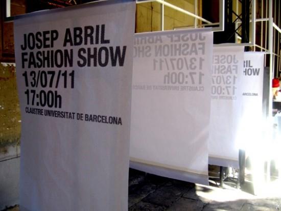 josep abril 080 barcelona fashion