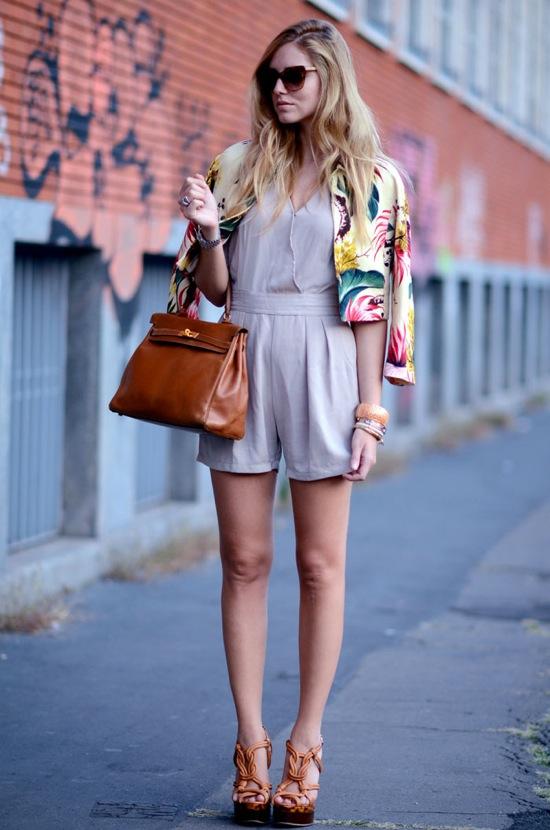 chiara ferragni the blonde salad @ Milan Mercedes-Benz fashionweek