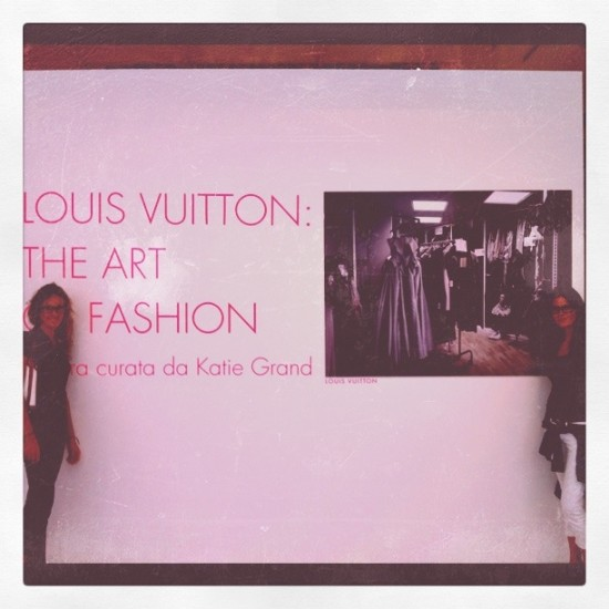 Louis Vuitton the art of fashion milan