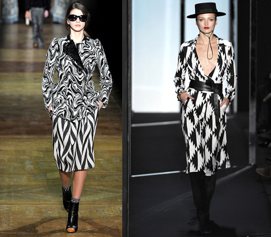 optical_dries-van-noten-diane-von-furstemberg f/w 2011 2012