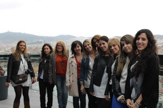 grupo blogger barcelo raval ruta sanex