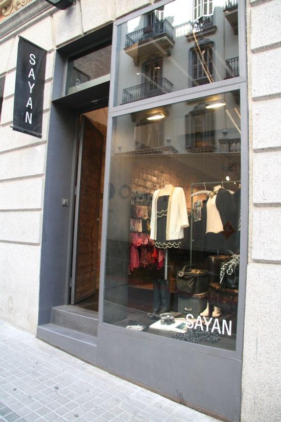 sayan tienda barcelona