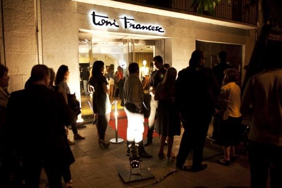 ton francesc store opening barcelona