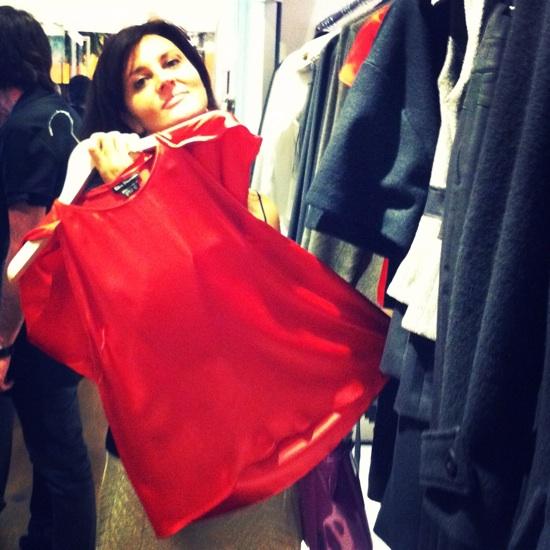 toni francesc fabiana blusa roja