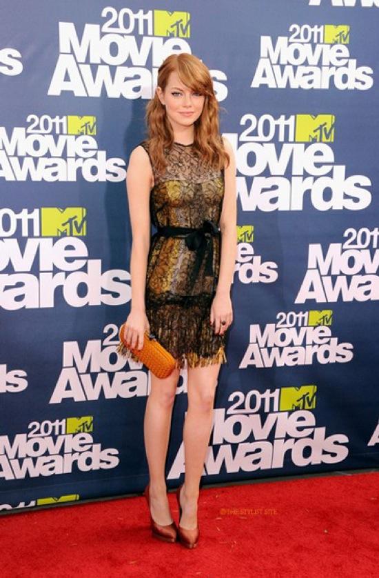 emma stone 2011 MTV Movie Awards - Petra Flannery