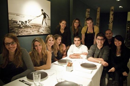 restaurante blau bcn chef marc roca grupo blogger